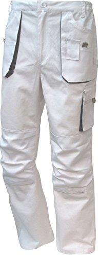 TRIUSO Power Bundhose in weiß-grau in Größe 46