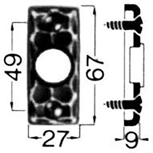 Format 4330816002155–drñcker-rosette Nr. 282Ei Rowe