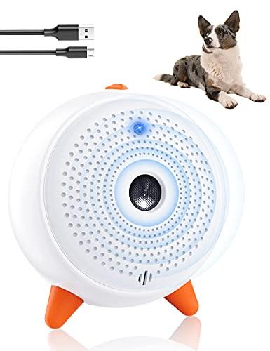 Ultraschall für Hunde, Anti-Bell-Geräte für Hunde mit Ultraschall, Kontrolle des Bellens, wiederaufladbar, WangoArnos Biothane Longe sichere Anti-Trainings-Pfeife für Hunde (Anti-abbaio)