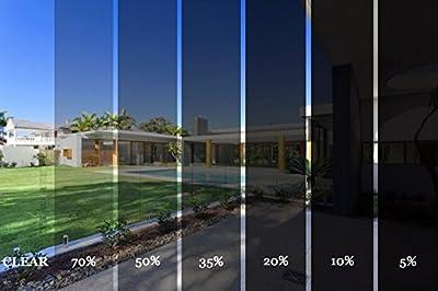 DiversityWrap K-Series Film teinté 2plis anti-rayures professionnel pour fenêtres de véhicules (6mx 75cm)
