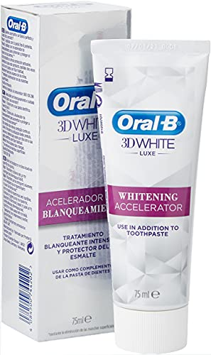 Oral-B 3D White Luxe Whitening Accelerator - 75 ml