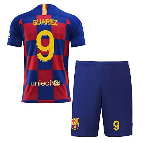 RG Personalisierte Fußball-Kits für Erwachsene Jugendjungen für Kinder Anpassen 2019-2020 (Heim & Auswärts) Fußball Fußball-Trikot und Shorts und Socken Personalisierter Name und Nummer