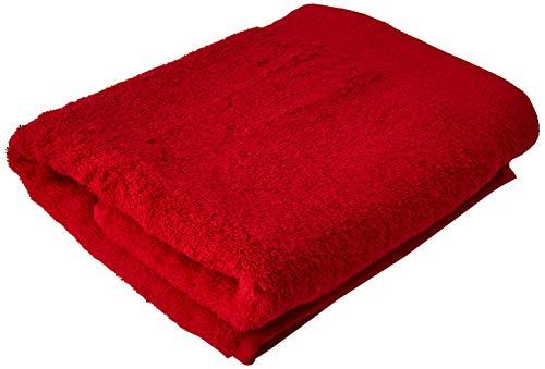 Eiffel Textile Handtuch, Baumwolle, Rot, 50x 100x 10cm