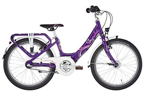 Puky 4450 - Skyride 20-3 Alu light - Fahrrad lila