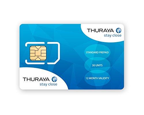 Thuraya Teléfono satélite tarjeta SIM
