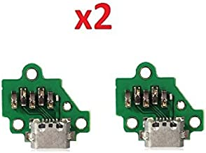 By Walking Slow-2x Piece of USB Charging Port Dock Flex Board Replacement For Motorola Moto G 3rd GEN G3 XT1541 XT1540