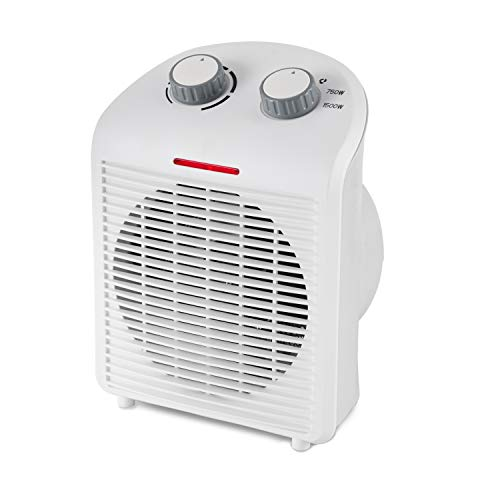 Limina LIM-19-100001 Portable Home Office Personal Electric 1500 Watt Fan Forced Room Space Heater Heater Room Space