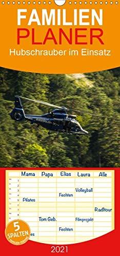 Hubschrauber im Einsatz - Familienplaner hoch (Wandkalender 2021 , 21 cm x 45 cm, hoch): Hubschrauber von Privat bis Bundeswehr im Einsatz (Monatskalender, 14 Seiten ) (CALVENDO Mobilitaet)
