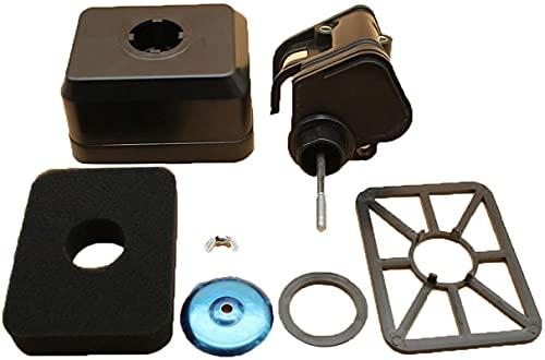 Limpiador de filtro de aire, cubierta de carcasa, conjunto de motor, generador de Motor, cortacésped apto para GX140 GX160 GX200 168F 196cc 163cc 5.5HP 6.5HP Estabilidad