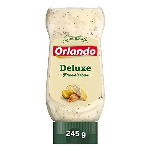 ORLANDO Salsa Deluxe Finas Hierbas Fusión Bote 245g
