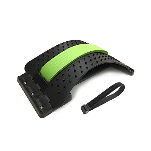 Back Massager Stretcher Anself Household Lumbar Support Traction Massager Waist Support Stretch Relaxation Equipment Spinal Pain Relieve Tool