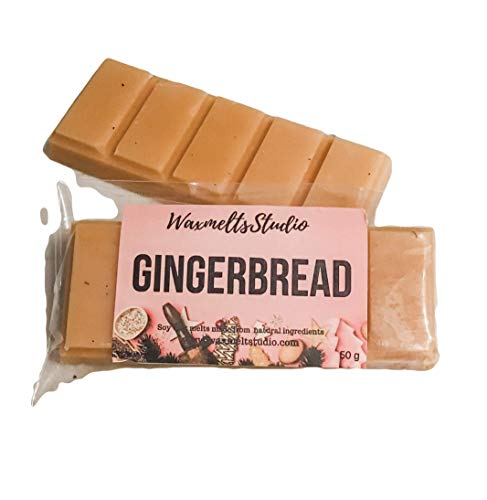 gingerbread highly scented Christmas wax melt bar
