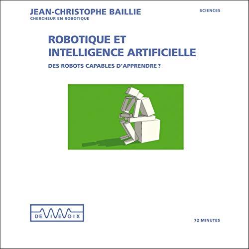Couverture de Robotique et intelligence artificielle
