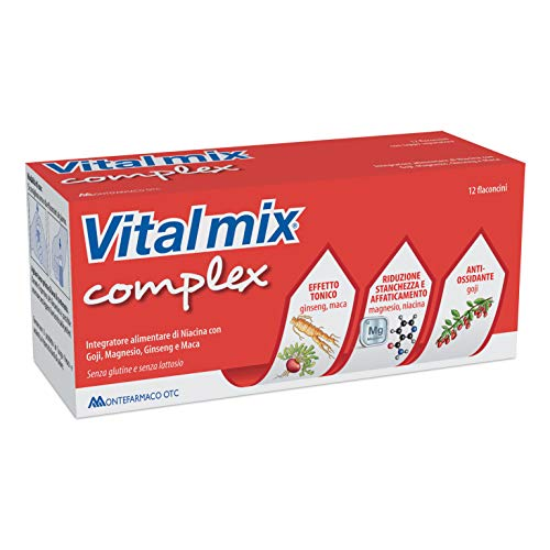 Montefarmaco Integratore Alimentare Vitalmix Complex, 12 Flaconcini