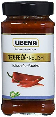UBENA Jalapeno-Paprika Relish, 3er Pack (3 x 0.345 kg)