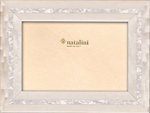 Natalini Mpb Bianco Cornice portafoto, Legno, 23 X 18 X 1.5 Cm
