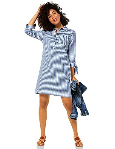 Street One Damen 142986 Kleid, original Blue, 38