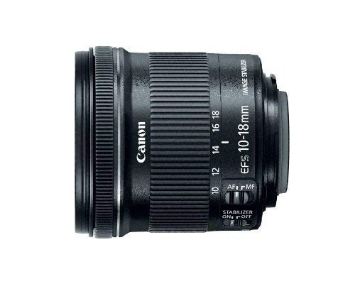 Canon EF-S 10-18mm f/4.5-5.6 IS STM Lens (Renewed)