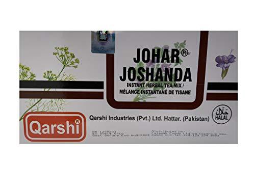 Qarshi Johar Joshanda Herbal Tea Cold Flu Remedy - Box Pack of 30 Sachets