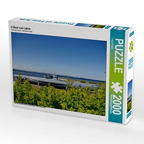 CALVENDO Puzzle U-Boot von Laboe 2000 Teile Lege-Größe 90 x 67 cm Foto-Puzzle Bild von Tanja Riedel