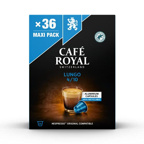 Cafe Royal Caf? Royal Compatible Aluminium Coffee Pods