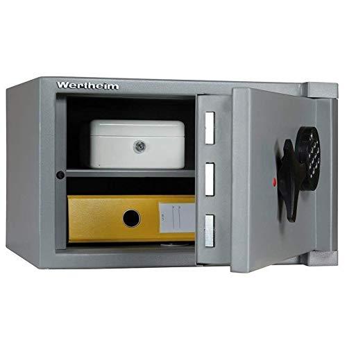 Wertheim Wertschutzschrank AG05, Mechanisches Zahlenkombinationsschloss La Gard 3390 VZ, Grad 1 nach EN 1143-1, H28xB45xT44.2 cm, 85 kg