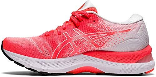ASICS Gel-Nimbus 23 Tokyo, Zapatillas de Running Mujer, Rouge Vif Blanc, 37 EU