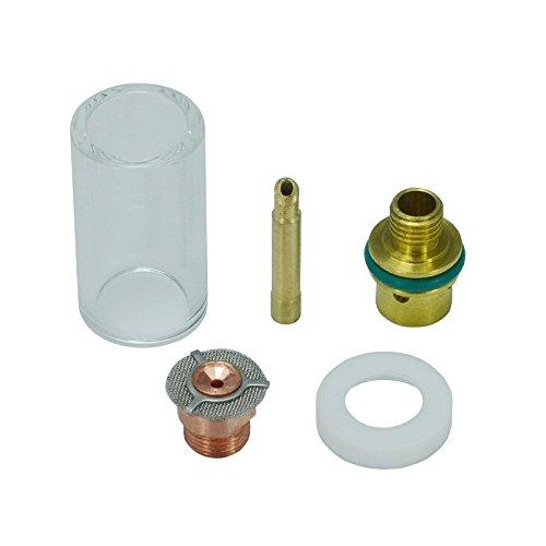 TIG Aluminia Nozzle Ceramic Cup Extra Long 53N61SXXL 8XXL and SR WP 9 20 25 TIG Welding Torch 5pk