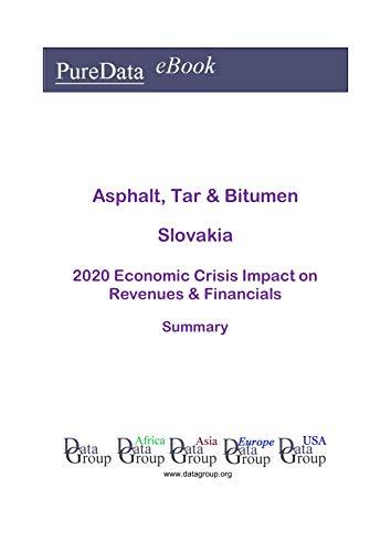 Asphalt, Tar & Bitumen Slovakia Summary: 2020 Economic Crisis Impact on Revenues & Financials (English Edition)
