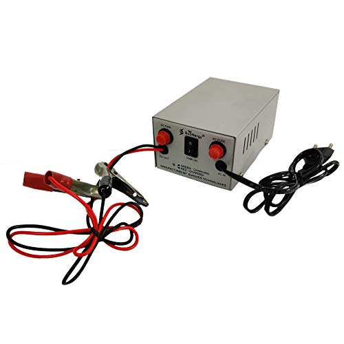 EcoNergy - 12V 5A Automotive/Two-Wheeler/Bike/Car Lead Acid Battery Charger (Boost Voltage : 14.4V / Float Voltage : 13.8V)