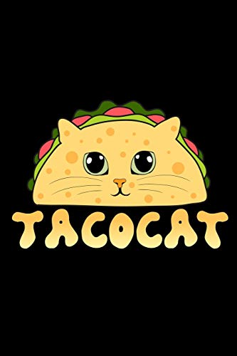 Tacocat: Mexican Cat Notebook to Write in, 6x9, Lined, 120 Pages Journal