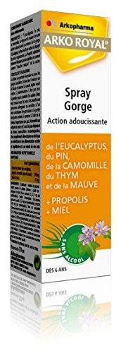 Arkopharma Arkoroyal Propolis - Spray suavizante para la garganta (30 ml)