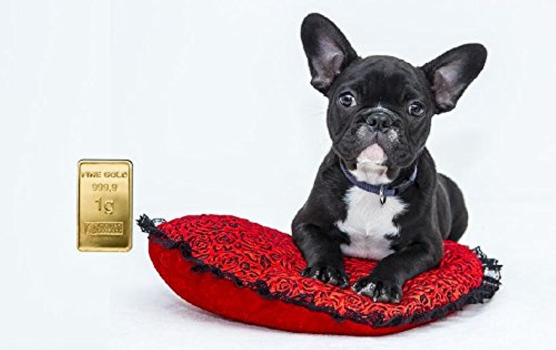 Deutsches Goldkontor 1,0 Gramm FeinGold Motiv-Karte Bulldogge Hund Hund Hund Goldbarren Gold 999,9 Barren B07DLMT6RF | Sonderpreis  dbae90