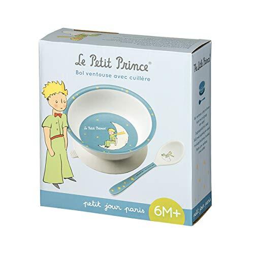 Petit Jour Paris - PP702BP - Coffret bol ventouse et cuillère Le Petit Prince - pour ne pas le renverser