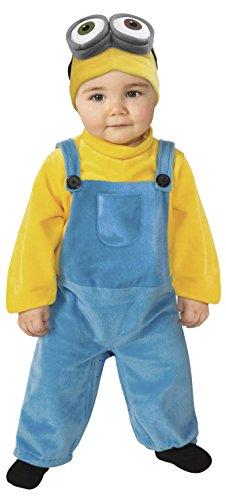 El Carnoval - Costume da Bambino Minion, Taglia 1-2 Anni