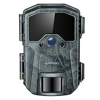 APEMAN Trail Camera 20MP 1080P Wildlife Camera Night Detection Game Camera with No Glow 940nm IR LEDs Time Lapse Timer IP66 Waterproof Design