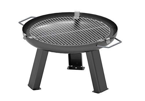 Linoows G2299: Barbecue Grid met Mounts voor 55 cm vuurschaal, RVS Roest