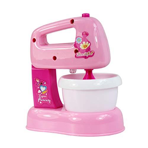 Lyguy Mixer Spielzeug, Kinder Kid Boy Girl Mini Küche Elektrogerät Mixer Spielzeug Set Früherziehung Dummy Haushalt Vorgetäuschte Spielhaus Geschenk