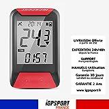 iGPSPORT iGS130 - Compteur de Vélo GPS Simplifié Vitesse odomètre IPX7...