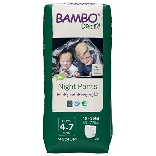 Bambo Nature - Mutandine da notte Dreamy per bambini, alta qualità