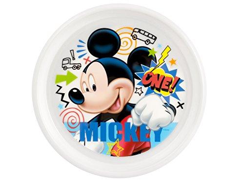 Ass Plate PP 22,5cm Mickey Doodl