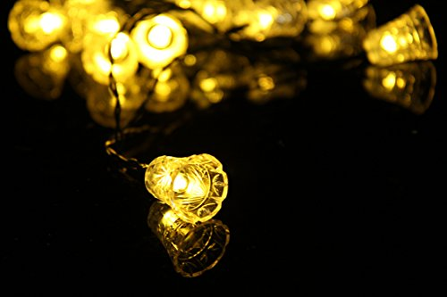 ポーペ『LEDイルミネーションライトベルイエロー』
