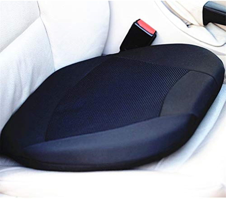 2 pcs of Memory Foam and Gel Pad Orthopedic Gel Cushion Seat for Car Driver Seat or Office Chair Stadium w Memor Reduce Back Lumbar Pain