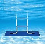 Poolmaster 32185 Swimming Pool Ladder Pad, 9 x 36 x 0.625 Inches, Blue