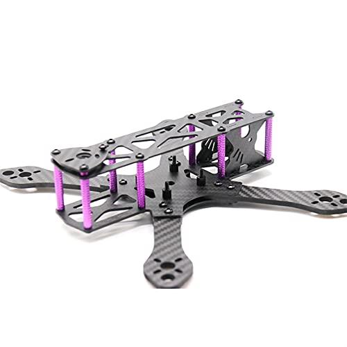 DingPeng Kit Telaio Martian 215 Passo 215 Millimetri 4 Millimetri Braccio in Fibra di Carbonio for Rc. fuco FPV. Corsa Kit Telaio FPV Racing Drone Quadcopter Accessori Ricambi (Color : Frame Kit)