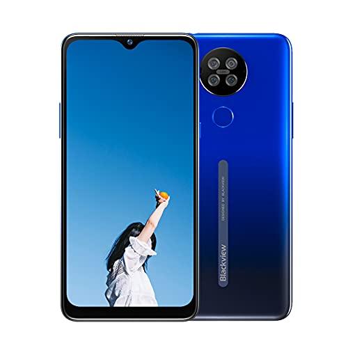Blackview A80S Smartphones,Smartphone Economici. Android 10 Octa-Core. 4GB+ 64GB. 6.21  HD+ IPS Water-Drop Screen. Smartphone in Offerta Telecamera 13MP+5MP