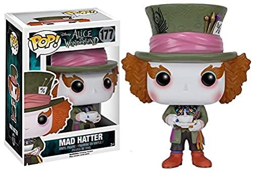 Funko 6709 Disney: Alice 6709 Wonderland POP Vinyl Mad Hatter Figure