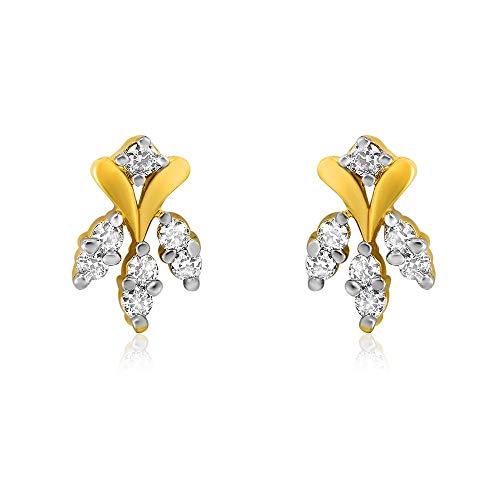 Indian Decor & Abbigliamento celeste metallo orecchino per le donne