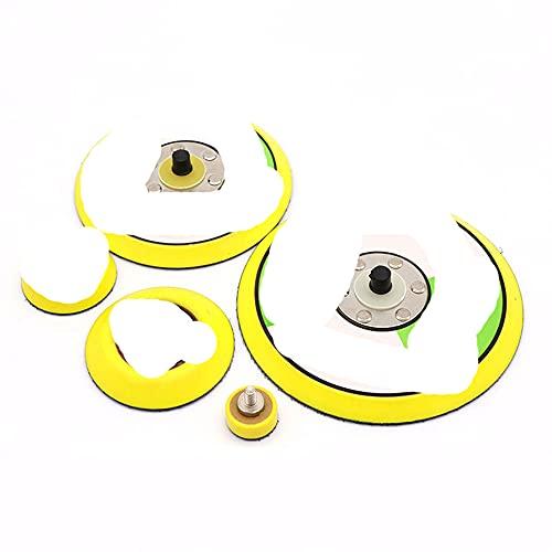 Disco de lijado de 1 '' - 6 '' Almohadillas de respaldo con gancho y bucle M6 Rosca de 5/16 para lijadora neumática-75 mm