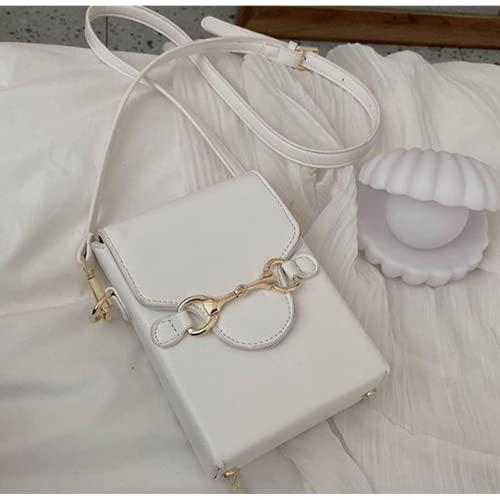 Kpcxdp Fashion Cien Cuero PU Mini Ladies Bolsas de Hombro Coollars Pequeño Paquete de teléfono avanzado